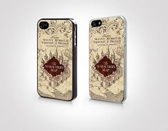 PGP046  Marauder's Map  Iphone 4 Case  Iphone 4s by Pixcatoshop, $6.99