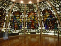 Stained Glass from the Baltic Exchange    This stained glass was salvaged from The Baltic Exchange after the terrorist bomb attack in 1992. It was then restored and now it is on display in the National Maritime Museum.    After the First World War John Dudley Forsyth was commissioned to design a series of windows for the Baltic Exchange. The windows formed part of a memorial to the 60 members of the exchange who lost their lives in the war. (from Quite Adept on Flickr)