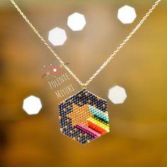 Diy Bracelets With Charms Ideas Beaded Jewelry Patterns, Bracelet Patterns, Beading Patterns, Diy Schmuck, Schmuck Design, Bead Jewellery, Diy Jewelry, Motifs Perler, Bracelet Tutorial