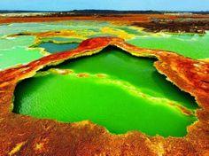 Allol Volcano Landscape, Ethiopia