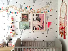 This is my eight-month-old daughter, Frenchy's room. When I began to style her nursery I chose the wallpaper first, not knowing the sex of the baby. I had seen it on Pinterest and fell in love with...
