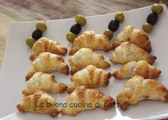La buona cucina di Katty: Cornettini sfiziosi con olive e senape