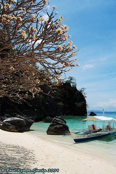 Banol Beach (Coron, Palawan Philippines) I will be here in April!!