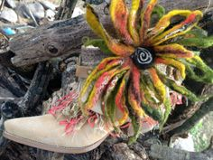 Gypsy Boho Cowgirl Paris Boots Size 8 Short by ThePaintedPalomino, $225.00