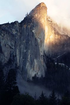 Leaning Tower, Yosemite | California (by It was the light, it was the angle)
