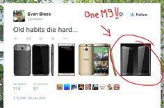 Ladies and gentlemen, the one and only @evleaks. Could this be the real HTC One M9?