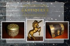 These beautiful brass vintage items are all in Monday's Antique Auction at pm! This also includes UNRESERVED model cars, jewellery, vases and other antique trinkets Under The Hammer, Antique Auctions, Vases, Vintage Items, Jewellery, Model, Beautiful, Jewels, Schmuck