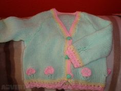 Hand Knitted Baby Cardigan €9 New on Adverts.ie #Baby #Babyclothes