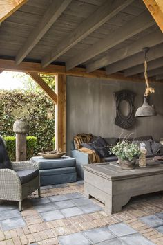 Outdoor Life, Outdoor Decor, Outdoor Shelters, Porche, Getaway Cabins, Living Styles, Pergola Designs, New Homes, Backyard