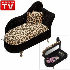 Leopard hand bag hand bags bags and hands for Chaise jewelry box