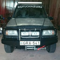 Suzuki Vitara V6 Bullbar with winch
