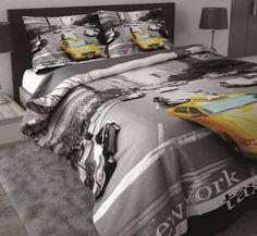Sleeptime Dekbedovertrek New York Taxi