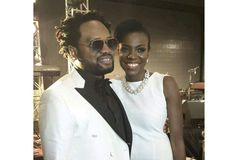 Checkout these stunning photos of Cobhams Asuquo and his wife, Ojuola
