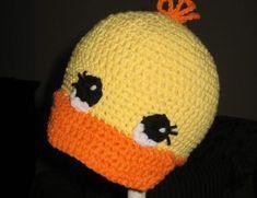 Crochet Duck Cap Pattern. Céline Gruel · bonnet enfant · Chapeau Bébé ... 2c8499a7154