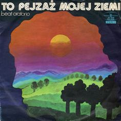 vintage Polish album cover designs