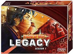 Pandemic Legacy: Season 1 is a co-operative campaign game, with an overarching story-arc played through 12-24 sessions, depending on how well your group does at the game. Treat diseases around the world and race against the clock to cure the world. Pandemic Legacy: Season 1 – Red Edition is recommended for 2-4 players, ages 13 and up.