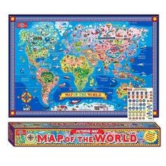 - 37 Eye-Catching World Map Posters You Should Hang On Your Walls