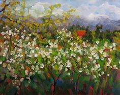 """Where ART Lives Gallery Artists Group Blog: #115 """"THE APPLE ORCHARD"""" DEE SANCHEZ"""