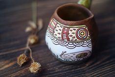 """Ceramic cezve """"the summer solstice"""""""