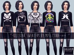 MissLunaxo's MissLuna - Killstar Sweaters Updated