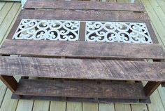 Beautiful Design Pallet Wood Coffee Table | 99 Pallets