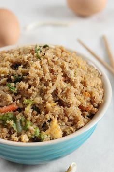 Low-carb cauliflower fried rice from @amuseyourbouche