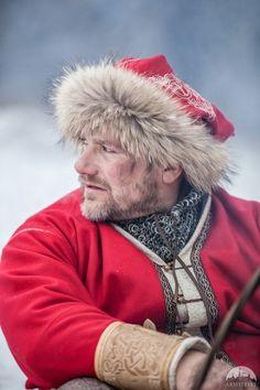 Wikinger bestickter Wollhut | Julfest Edition