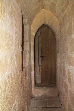 Pasillo en el interior del Torreón