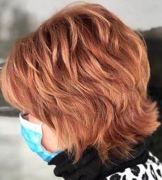 Natural Wavy Hair, Short Wavy Hair, Short Hair With Layers, Short Hair Styles, Short Hsir, Flat Iron Short Hair, Layered Haircuts For Women, Short Shag Hairstyles, Short Hair Cuts For Women