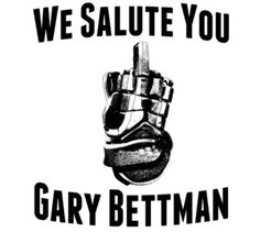 We Salute You Gary Bettman - you prick!