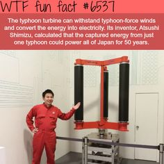 Typhoon turbine - WTF fun facts