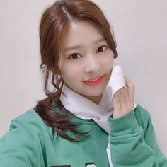 """[IZ*ONE TWT] 181109 """"It's weekend, you've worked hard for a week I hope you get comforted over the weekend by looking at Minju😆😆 Yuri, Rapper, Japanese Girl Group, Kim Min, Extended Play, Sea Wallpaper, Pledis Entertainment, The Wiz, Selca"""