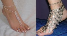 Latest Styles Of Fashion Anklets - Bridal 'N' Bridal Ankle Braclets, Bracelets, Necklaces, Teen Trends, Ankle Jewelry, Bare Foot Sandals, Chain Earrings, Toe Rings, Anklets