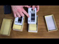 Cómo diferenciar un Samsung Galaxy S5 original y una imitación - YouTube