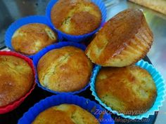 Muffins μήλου εύκολα χωρίς μίξερ για όλες τις ώρες! The Best, Food Processor Recipes, Muffins, Recipies, Food And Drink, Cooking Recipes, Cupcakes, Sweets, Diet