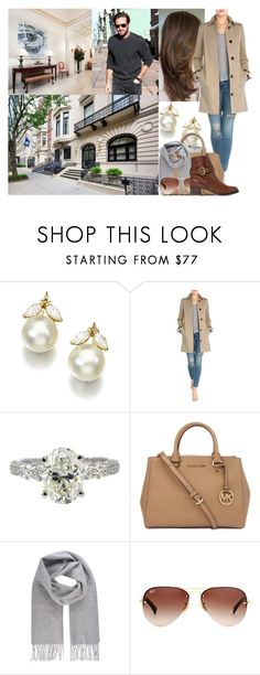 """""""Viewing a potential future home in New York City"""" by swedish-princess ❤ liked on Polyvore featuring INC International Concepts, Current/Elliott, Michael Kors, Vivienne Westwood, Ray-Ban and Chloé"""