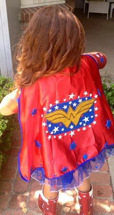 Wonder Woman costume I made for Riley :)