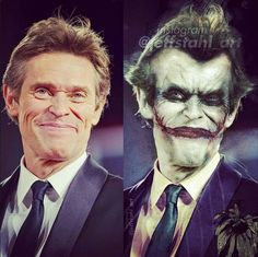 Willem Dafoe as The Joker (Jack Napier)
