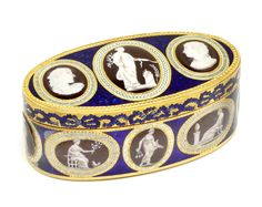 Snuffbox, Sebastian Guerint (box), c. 1800, London, museum no. Loan:Gilbert.357-2008 | The Rosalinde and Arthur Gilbert Collection on loan to the Victoria and Albert Museum, London