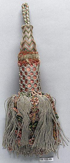 19th Century French Silk Tassel ~