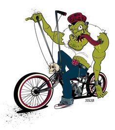 Rat Rod bike by JESLAB on deviantART