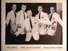 "The Crescendos, from Nashville, TN - ""Oh Julie"", 1957"