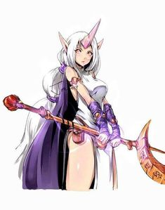 League of Legends. Soraka. Giving me Syndra vibes with that hair tbh