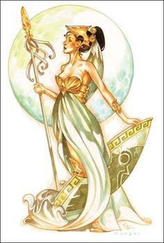 Athena the Greek Goddess of Wisdom and War