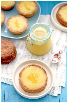 Lemon Curd Tartelettes with Sugar Cookie Crust