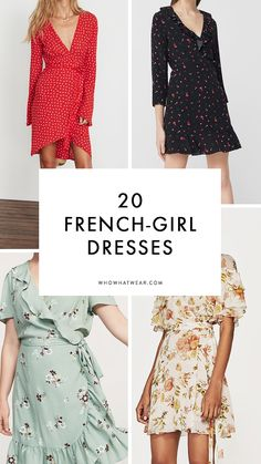French girls wear the coolest dresses. Here's where to find the feminine yet cool pieces they wear on repeat.