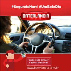 Bom dia motoristas e pilotos! #SegundaHard #UmBeloDia #Baterlândia