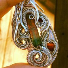 ©Nick Cooney x Chase Christiansen #wirewrap #jewelry #wirewrapjewelry