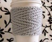 Verona - Cup Cuddler PDF Knitting Pattern. $2.00, via Etsy.