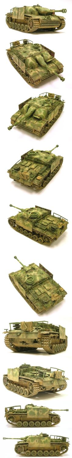 Stug III G Late 1/35 Scale Model